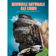 Minunile naturale ale lumii. Atlas ilustrat bilingv român-englez.
