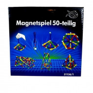 Set de constructie MagnetSpiel, 50 piese. Joc magnetic.