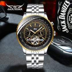 Ceas barbatesc Jaragar Automatic Metal Gold