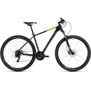 Poze BICICLETA CUBE AIM PRO Black Flashyellow 2018