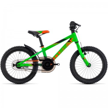 Poze Bicicletă CUBE KID 160 Frashgreen Orange 2018