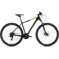 BICICLETA CUBE AIM PRO Black Flashyellow 2018