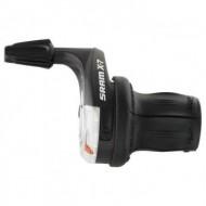 Manete schimbator SRAM X.7 Twister, 3+9 viteze, NEGRE