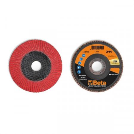 Poze Disc lamelar abraziv, ceramic, spate fibra de sticla, Ø125mm TOP LINE 11248B