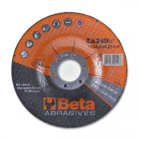 Poze Disc slefuire otel si inox, tip oala, zirconiu, pentru polizor unghiular 11050