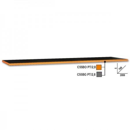 Poze Blat de lucru pentru banc, 2,8m, portocaliu C55BO PT/2,8