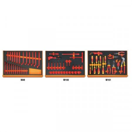 Poze Set 67 scule asortate, 1000V, in suport burete 5988VHB-MQ