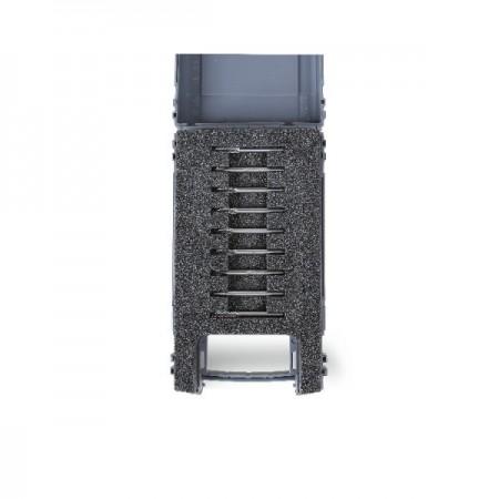 Poze Set 9 mini cutite taiere precizie din metal dur, cutie plastic 426MD-3/A9