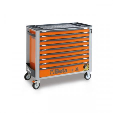Dulap mobil cu 9 sertare, extra-lung și 493 scule, 2400S XLO9/E-XL - 493- CAMPANIE SPECIALA