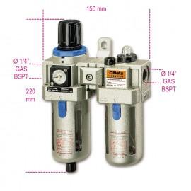 """Poze Baterie filtranta cu regulator si lubrificator 1/4"""" 1919F1/4"""