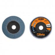 Disc lamelar abraziv pentru slefuit, zirconiu, Ø125 mm, PREMIUM LINE 11200B