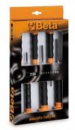 Set dornuri cu maner in suport textil, 2-8mm,6 piese 31BM/D6