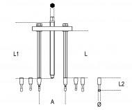Trusa extractoare rulmenti 1547/C6