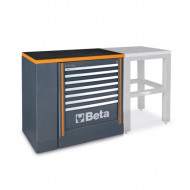 Banc de lucru modular 1m, cu modul fix C55B/1