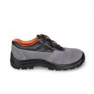 Pantofi din piele întoarsă 7246BK