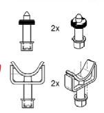 Set suport adaptor Crafter/Sprinter Ravaglioli S370A17