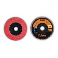 Disc lamelar abraziv, ceramic, spate plastic, Ø125mm TOP LINE 11246B