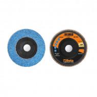 Disc lamelar abraziv cu zirconiu-ceramic, spate plastic, Ø115mm TOP LINE 11240A