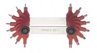 Lere concave si convexe, pentru masurarea razei 1707B/2