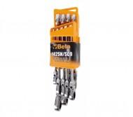 Set chei inelare cu clichet reversibil, 8-19mm 142SN/SC9