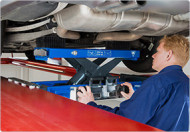 Cric hidraulic tip traversa, actionare manuala, 2T AC Hydraulic SD20PHL