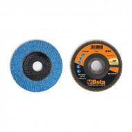 Disc lamelar abraziv cu zirconiu-ceramic, spate fibra de sticla, Ø125mm TOP LINE 11242B