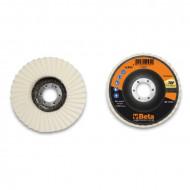 Disc lamelar din pasla, spate fibra de sticla Ø115-125mm TOP LINE 11259