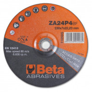 Disc slefuire otel si inox, tip oala, zirconiu, pentru polizor unghiular 11050S