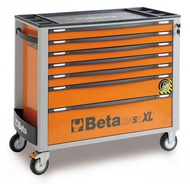 Dulap mobil extra-lung cu 7 sertare si sistem antirasturnare C24SAXL/7