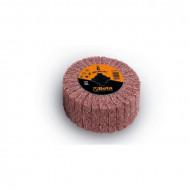 Tambur lamelar abraziv si fibra sintetica din corindon, pentru masina de satinat, Ø100x50mm 11420A