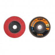 Disc lamelar abraziv, ceramic, spate fibra de sticla, Ø115mm TOP LINE 11248A