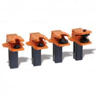 Set blocatoare conducte, 4 piese 1481K/S4