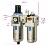 """Baterie filtranta cu regulator si lubrificator 1/4"""" 1919F1/4"""