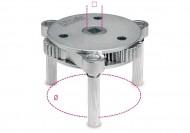 Cheie de filtru cu 3 brate, diametru 105-165mm 1493/U