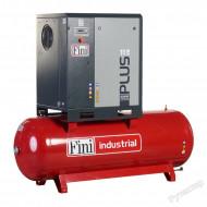 Compresor de aer cu surub si rezervor Fini Plus 8-10-500