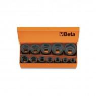 Set tubulare de impact, actionare 1/2'', 10-32mm, 12 piese 720/C12