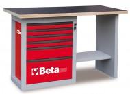 Banc de lucru cu 6 sertare C59C