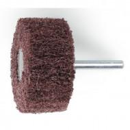 Perie abraziva, fibra sintetica din corindon Ø60mm, cu tija Ø6mm 11271B