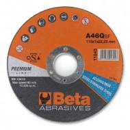 Disc taiere otel si inox, subtire, pentru polizor unghiular PREMIUM LINE 11045