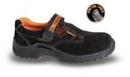 Sandale din piele întoarsă 7216BKK