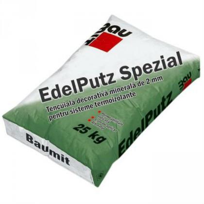 Baumit EdelPutz Spezial - Tencuiala decorativa minerala pe sistem termoizolant 25 kg
