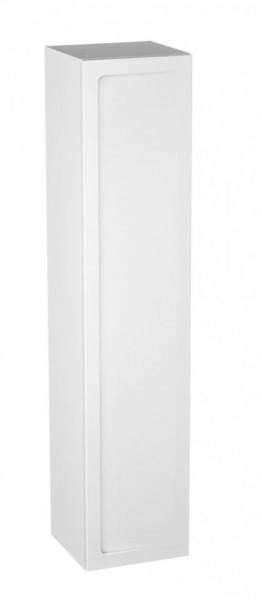 Dulap inalt suspendat Oristo Beryl alb mat 3 etajere sticla 2 sertare 160 cm