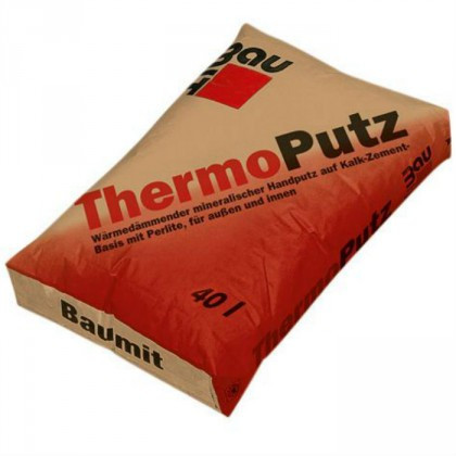 Baumit ThermoPutz - Tencuiala termoizolanta 40 Litri