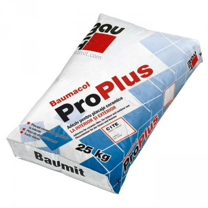 Baumit Baumacol ProPlus - Adeziv pentru placaje ceramice 25 kg C1TE
