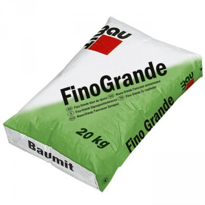 Baumit FinoGrande - Glet de ipsos 2-6 mm 20 Kg