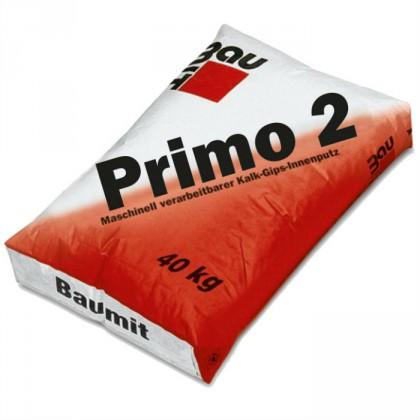 Baumit Primo 2 - Tencuiala de grund var-ciment 40 Kg