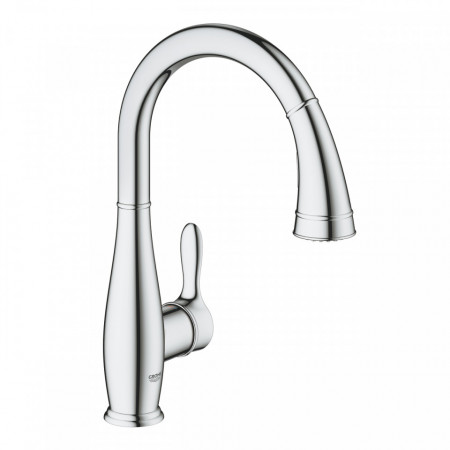 Baterie bucatarie Grohe Parkfield pipa extractibila