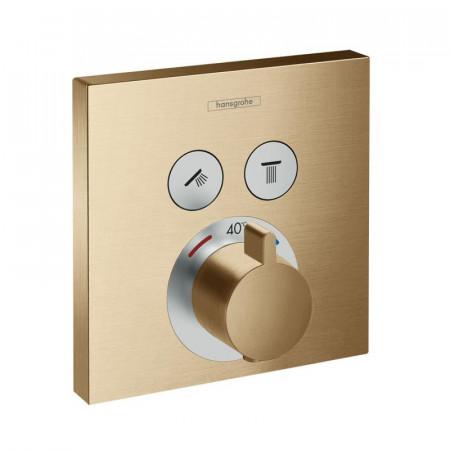 Baterie dus termostatata Hansgrohe ShowerSelect incastrata