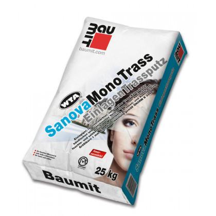 Baumit SanovaMonoTrass - Tencuială monostrat trass-var