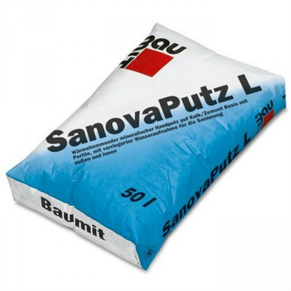 Baumit SanovaPutz L - Tencuiala pentru reparatii